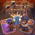 Pirate Enjoying playing cards