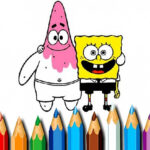Sponge Bob Coloring Ebook