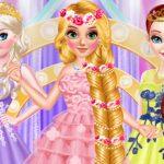 Prolonged Hair Princess Promenade