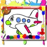 Airplane Coloring E-book
