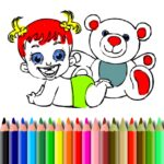 BTS Little one Doll Coloring