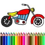BTS Bike Coloring