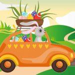 Bunnies Driving Vehicles Match 3
