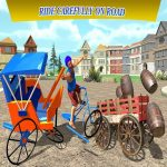 Metropolis Cycle Rickshaw Simulator 2020