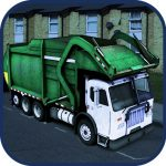 Metropolis Garbage truck