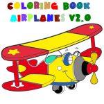 Coloring E-book Airplane V 2.0