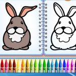 Coloring Bunny E-book