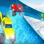 Loopy Monster Truck Water Slide Sport