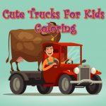 Cute Vans For Kids Coloring
