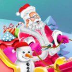 Design Santa's Sleigh Recreation