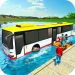 Floating Water Bus Racing Sport 3D