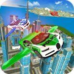 Flying Police Vehicle Simulator