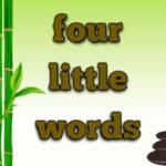 4 Little Phrases