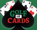 Golf of Enjoying playing cards