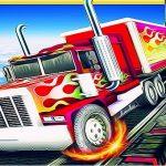 Inconceivable Tracks Truck Parking Sport