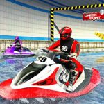 Jet Sky Water Boat Racing Recreation