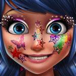 Ladybug Glittery Make-up