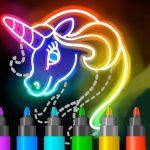 Research to Draw Glow Cartoon