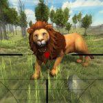 Lion Looking 3D