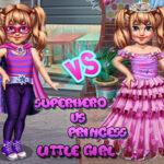 Little Woman Superhero Vs Princess