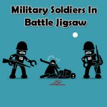Military Troopers In Battle Jigsaw