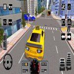 Modern Metropolis Taxi Automotive Simulator