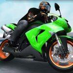 Moto 3D Racing Drawback