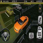 Night Automotive Parking Simulator