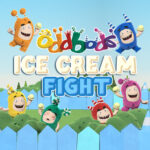 Oddbods Ice Cream Battle