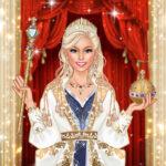 Queen Vogue Salon Royal Gown Up