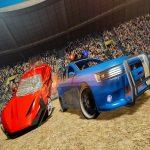Precise Car Demolition Derby Racing Sport