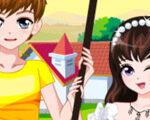 Romantic Spring Couple