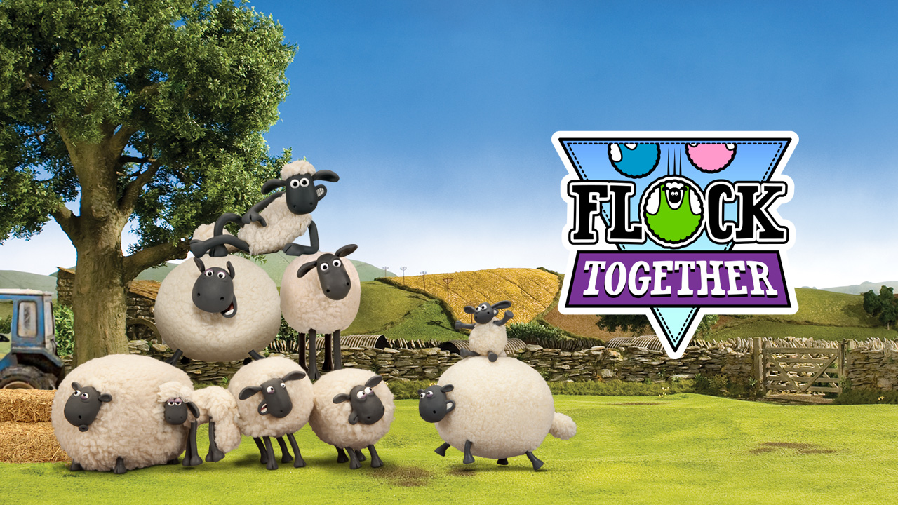 Image Shaun The Sheep Flock Collectively