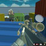 Taking footage Blocky Struggle Swat GunGame Survival