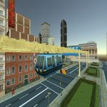 Sky Apply Simulator : Elevated Apply Driving Recreation