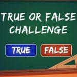 True or False Drawback