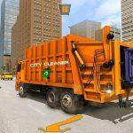 US Metropolis Garbage Cleaner: Trash Truck 2020
