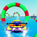 Water Automotive Stunt Racing