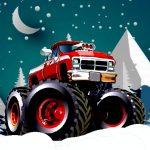 Winter Monster Vans Race