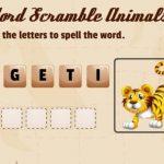 Phrase Scramble Animals