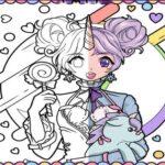 Anime Women Coloring Guide: Pop Manga Coloring