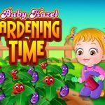 Little one Hazel Gardening Time