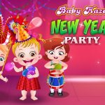 Youngster Hazel New 12 months Event