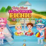 Little one Hazel Preschool Picnic