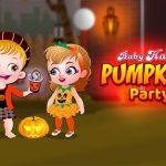Baby Hazel Pumpkin Event