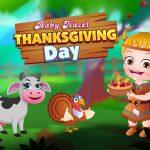 Little one Hazel Thanksgiving Day