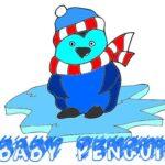 Child Penguin Coloring