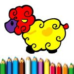 Baby Sheep Coloring Information