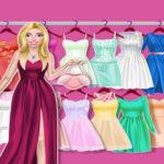 Ballerina Princess Journal Gown Up