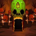 Brown Cranium Forest Escape